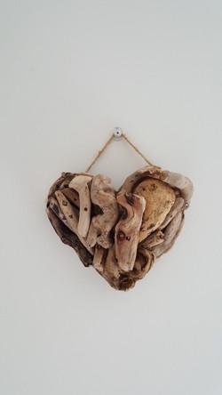 Mini Driftwood Heart - £2