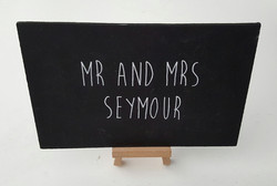 Blackboards with Easels 60p