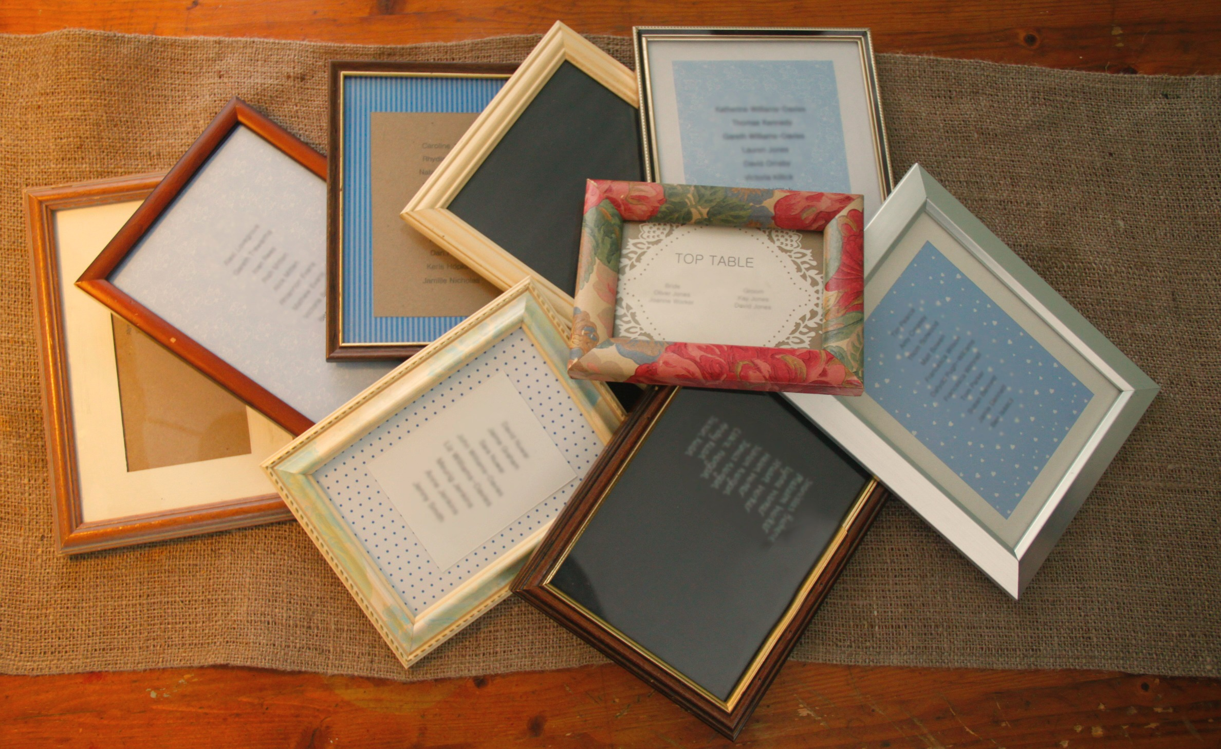 Job Lot Picture Frames