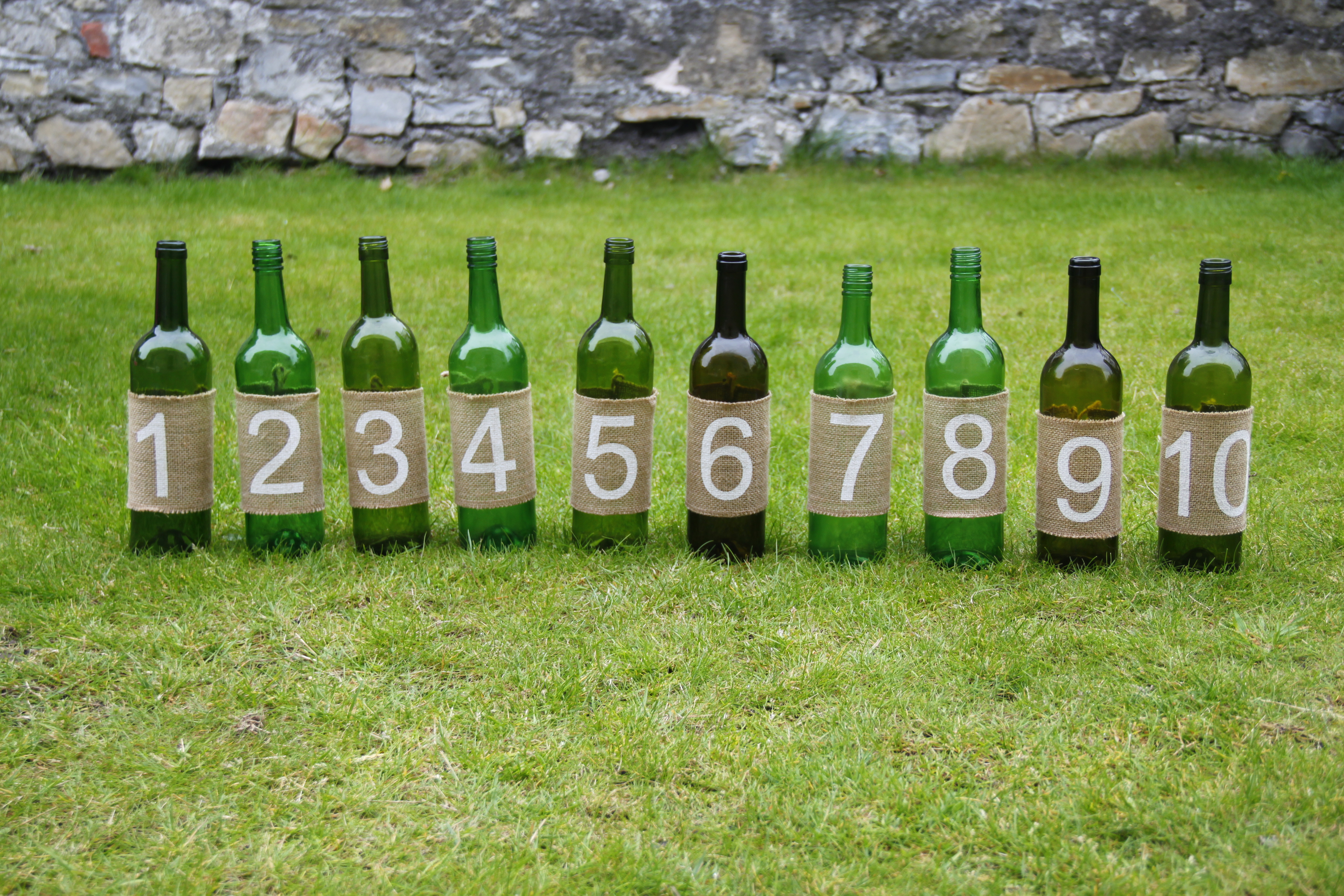 Bottle Numbers 50p
