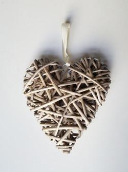 Wicker Hearts 50p