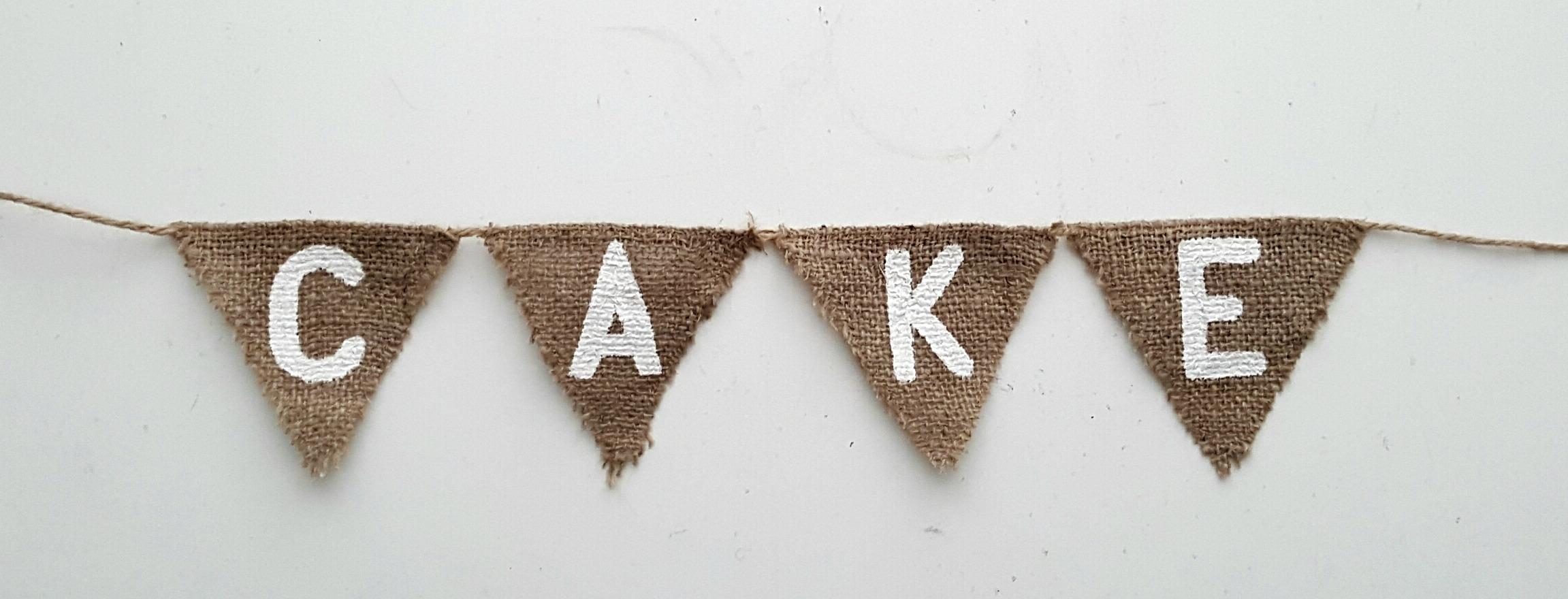 Cake Banner £1