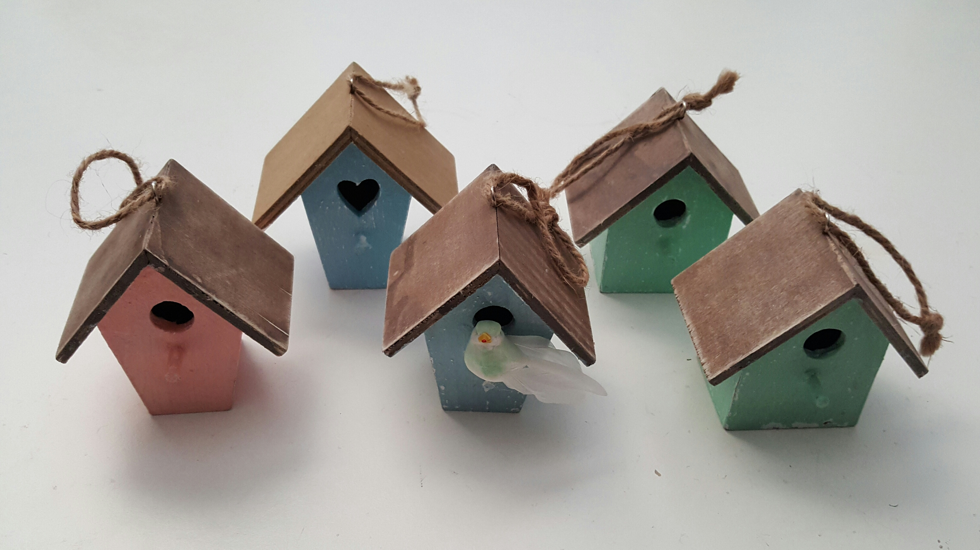 Five Little Birdhouses.
