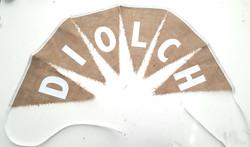 Diolch banner £2