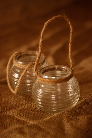 Ribbed Jars 50p