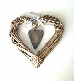 Wicker Heart 90p