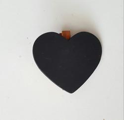 Mini Blackboard Heart 10p