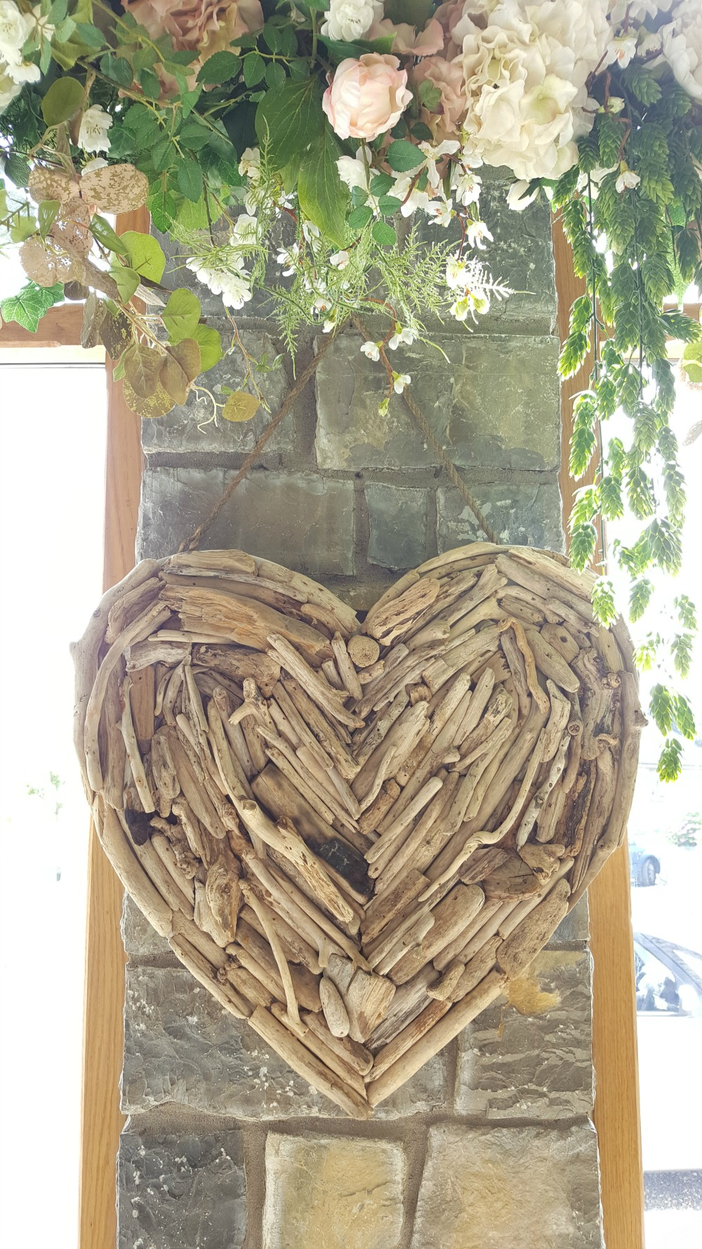 Large Driftwood Heart - £12