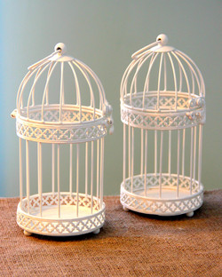 White Birdcages