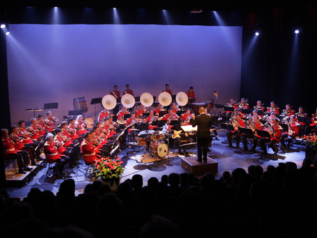 Flora Band orkesten in 'De Muze'