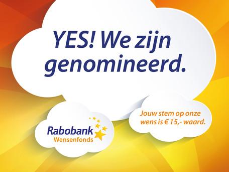 Wens van Flora Brass genomineerd voor het Rabobank Wensenfonds!