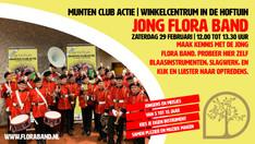 Nieuws   Munten club actie – Jong Flora Band in de Hoftuin!