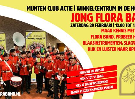 Nieuws | Munten club actie – Jong Flora Band in de Hoftuin!