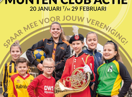 Nieuws | Munten club actie - Flora Band orkesten