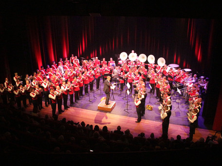 Flora Band orkesten – On Stage groot succes
