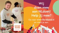 Oproep   NL doet! bij de Flora Band orkesten