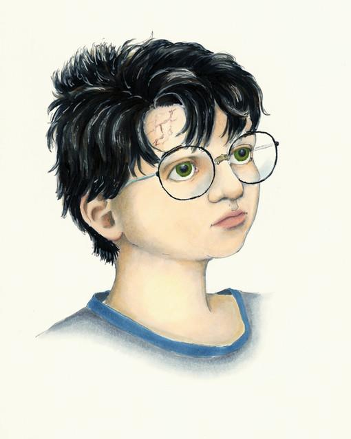 Harry Potter Age 11 Concept
