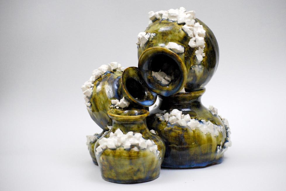 Relic of Bequeathed, Relics & Memories.  2012. Wheel-thrown ceramics.