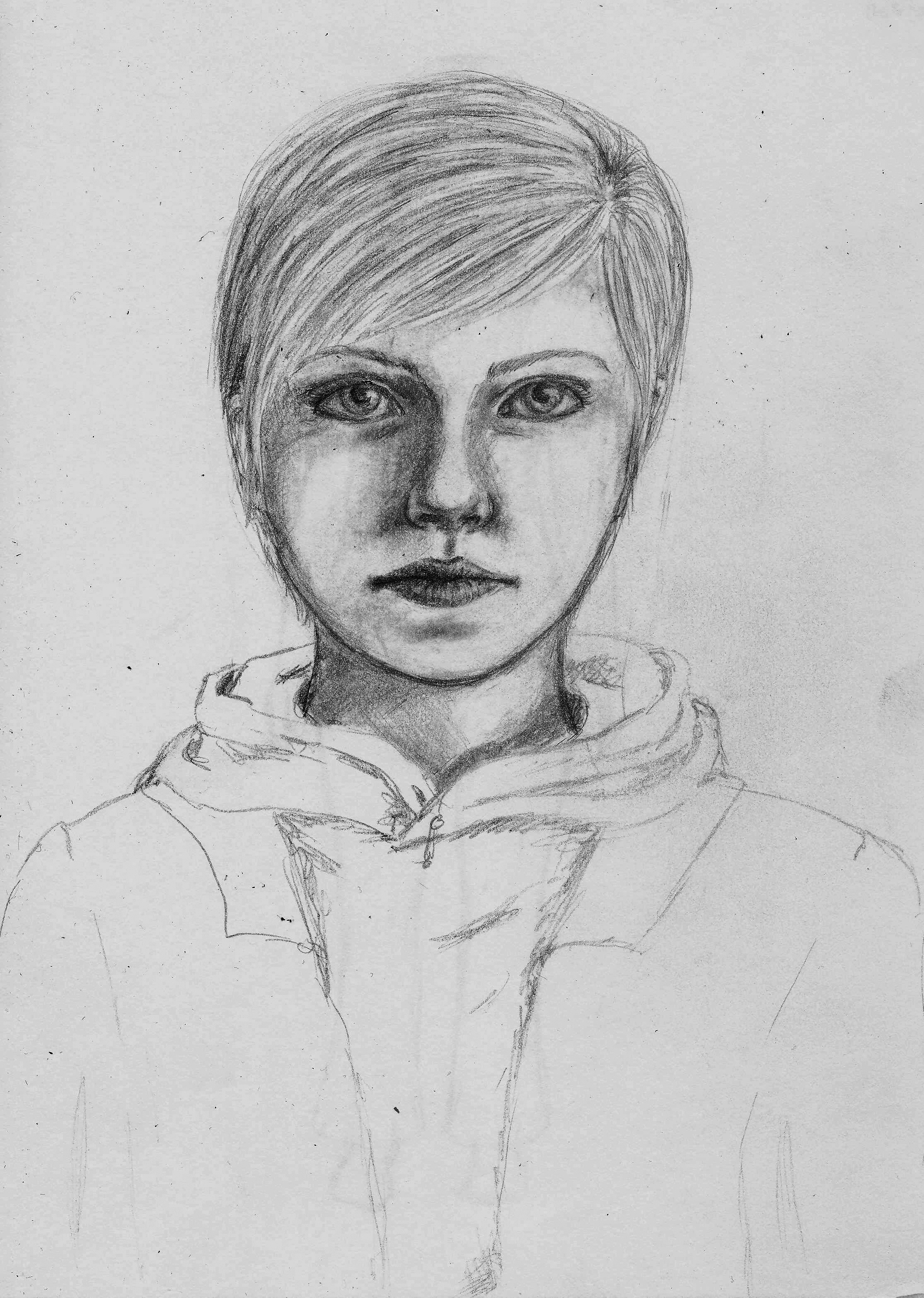 Tegan Portrait Sketch