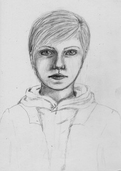 Tegan Portrait Sketch