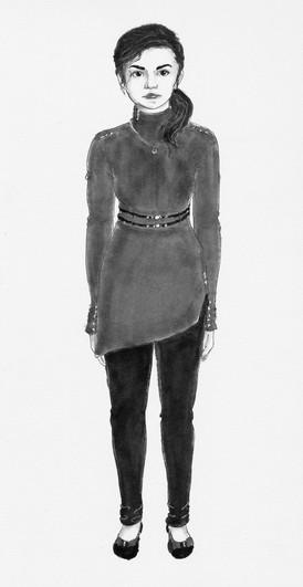 Clothing Design Sketch for Kyna