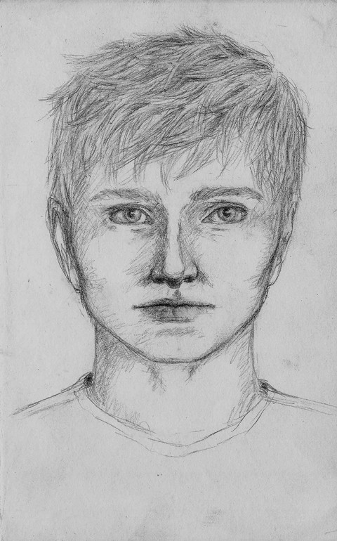 Character Concept Sketch, Gareth (2nd Iteration)