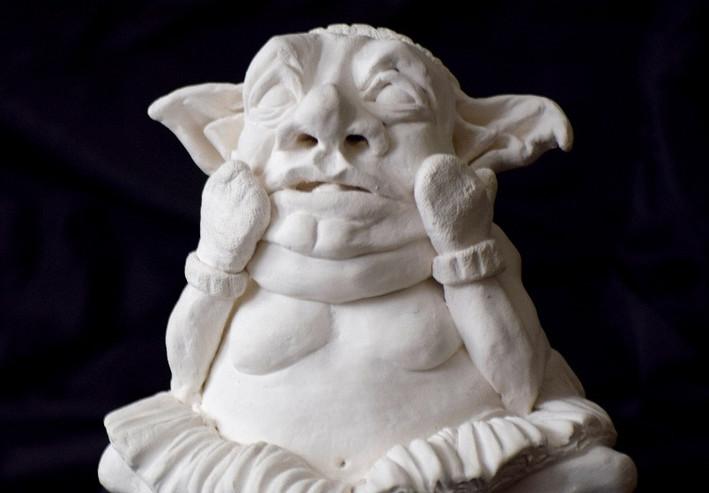 Harrold What Dreams of Juilliard. 2018. Hand-built ceramics.