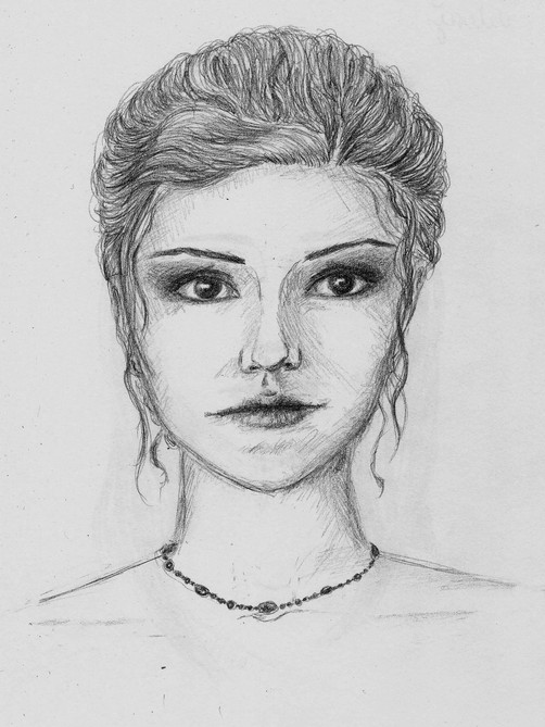 Character Concept Sketch, Valerie - After