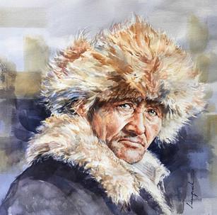 Master Mongolian Eagle Hunter