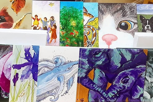 Mixed Greeting Cards in support of CMHA