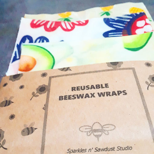 Artisan Made Beeswax Wrap Set