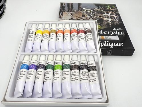 Acrylic Paint Tube Set