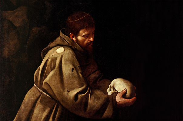 Painting of Saint Francis of Assisi