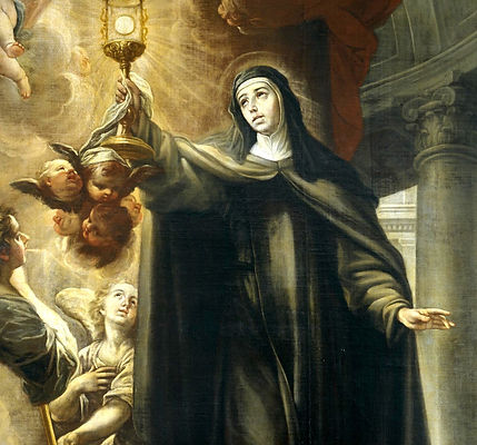 Painting of Saint Clare of Assisi