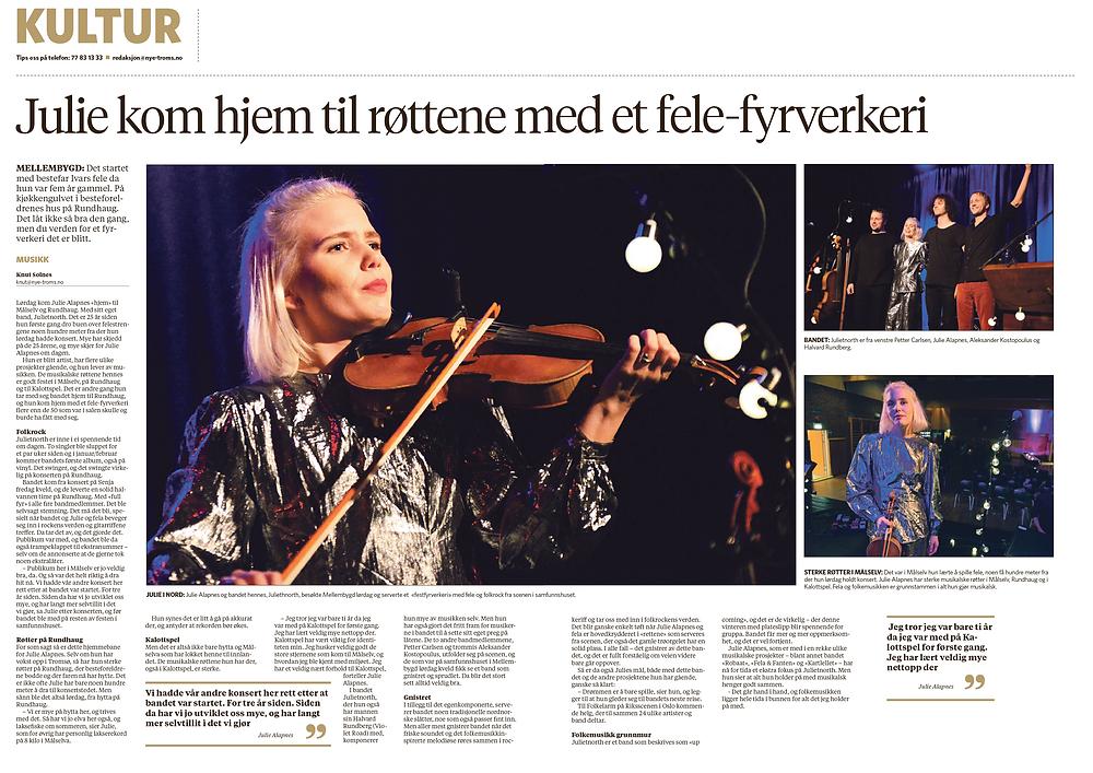 Nye Troms Julietnorth Målselv