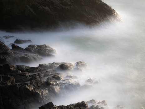 The rocky cove at Botallack