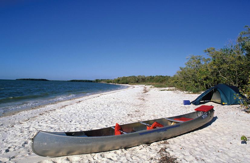 Ten Thousand Islands canoeing