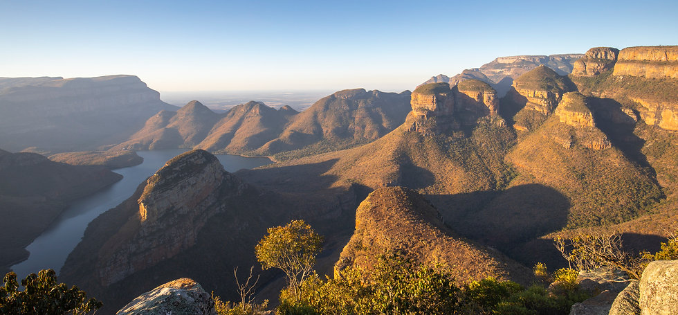 Three Rondavels, South Africa, by William Gray