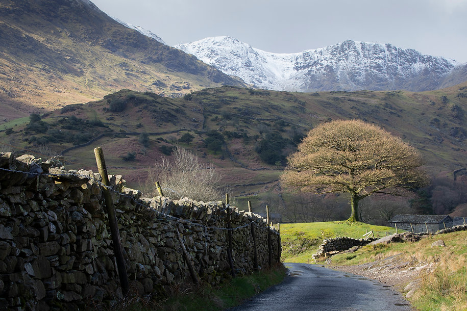 Little Langdale Valley, Lake District, by photographer William Gray