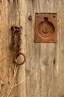 Old farm door, West Sussex
