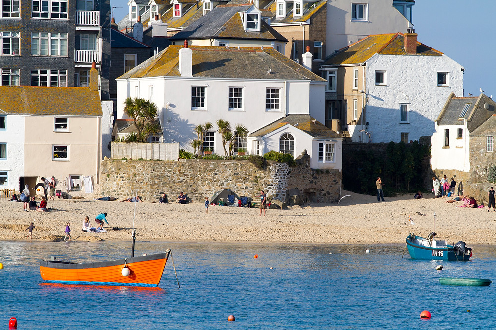 St Ives Harbour, Cornwall, by William Gray