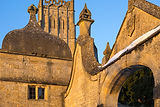 Detail of buildings in Chipping Campden by Will Gray