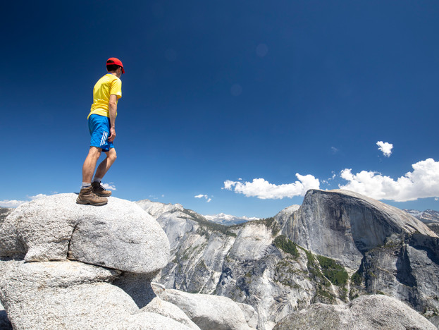 Half Dome viewed from North Dome, Yosemite