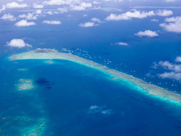 Ribbon Reef aerial
