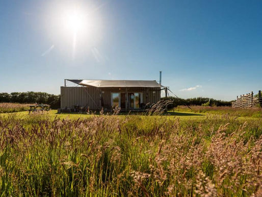 Glamping in Cornwall: Rusty the Tin tent