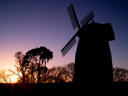 The Windmill above Tysoe