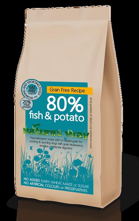 Nature's Way 80% Fish & Potato Recipe