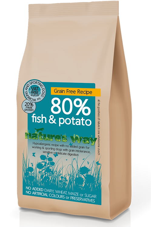 Nature's Way 80% Fish & Potato Recipe