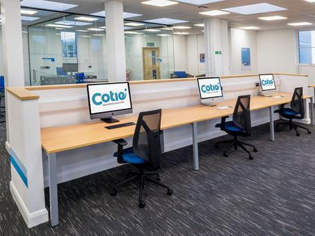 Cotie is a work-hub here in Barnstaple, North Devon