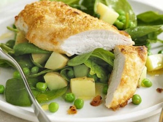 Feed a family of 4 for £9.99 with Parmesan Spring Chicken